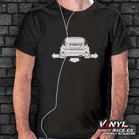 Camiseta Wide and Low Ford Fiesta - Vinyl Race