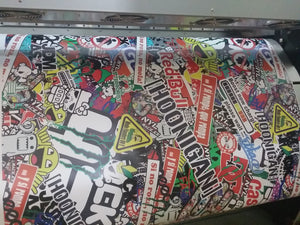 Sticker Bomb-Body Shop-VinylRace.es