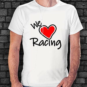 Camiseta We Love Racing - Vinyl Race