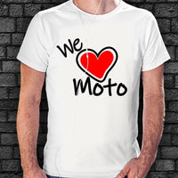 Camiseta We Love Moto - Vinyl Race