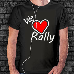 Camiseta We Love Rally - Vinyl Race