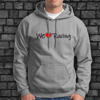Sudadera We Love Racing Logo Largo-Camisetas y más-VinylRace.es