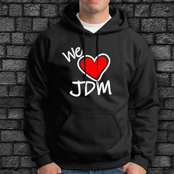 Sudadera We Love Jdm - Vinyl Race