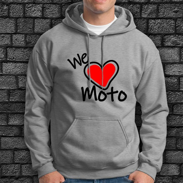 Sudadera We Love Moto - Vinyl Race