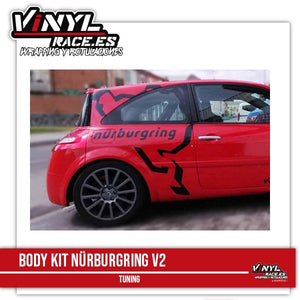 Kit Nürburgring Fat-Body Shop-VinylRace.es
