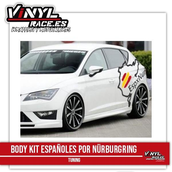 Body Kit Españoles por Nürburgring-Body Shop-VinylRace.es