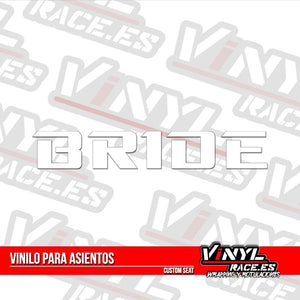 Vinilo Asientos Bride - Vinyl Race