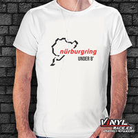 Camiseta Circuito Nürburgring Under 8' - Vinyl Race