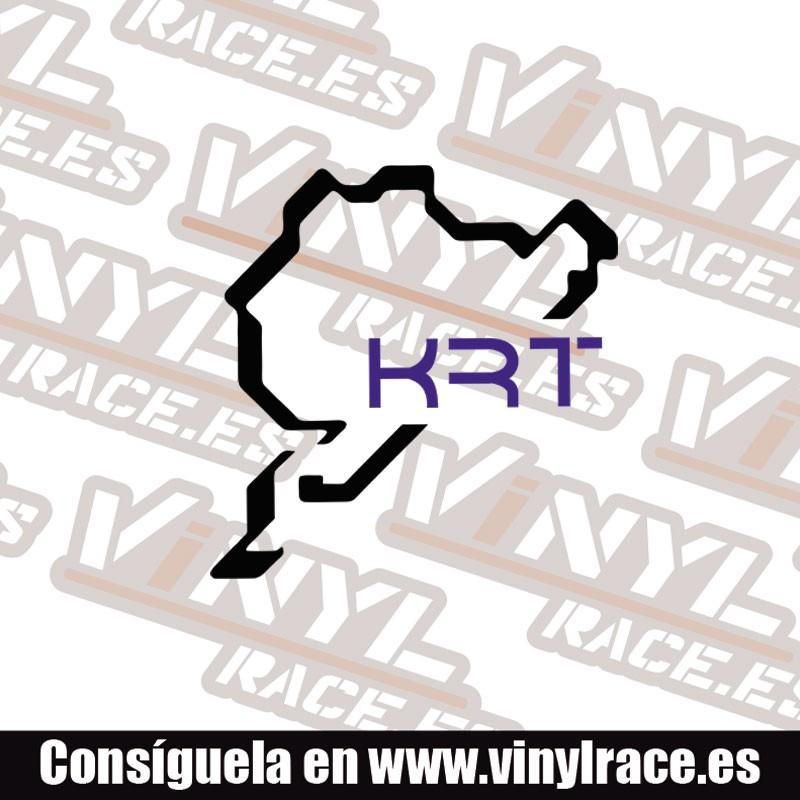 Pegatina KRT Racing - Vinyl Race