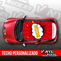 Kit Techo Comic Boom-Body Shop-VinylRace.es