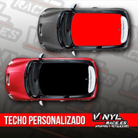 Kit Techo Color Personalizado-Body Shop-VinylRace.es