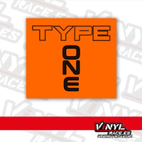 Type One (VinylRace)