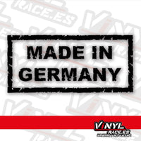 Pegatina Made in Germany (VinylRace)