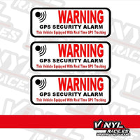 Pegatina Advertencia Seguridad GPS-Stickers / Pegatinas-VinylRace.es
