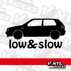 Pegatina Low & Slow Golf III