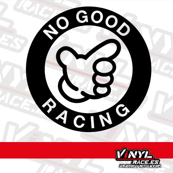 Pegatina No Good Racing-Stickers / Pegatinas-VinylRace.es