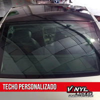 Kit Techo Color Personalizado - Vinyl Race
