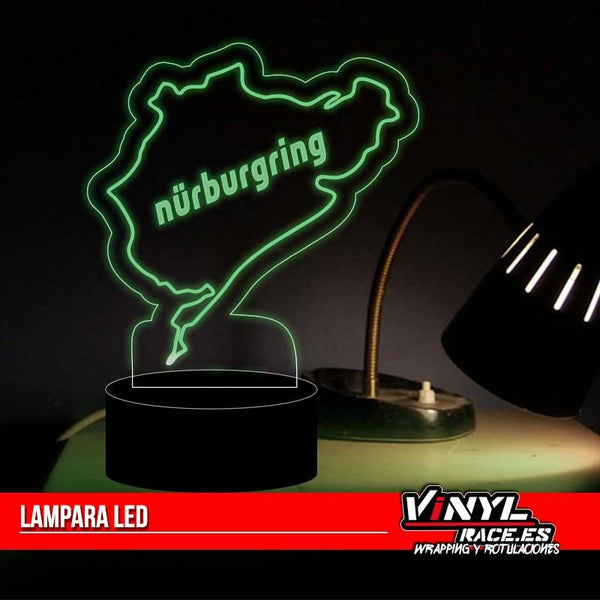Lámpara LED Circuito Nürburgring-Racing Deco-VinylRace.es