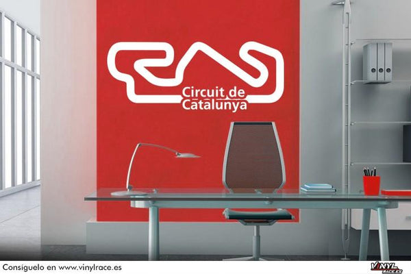 Circuit Catalunya-Racing Deco-VinylRace.es