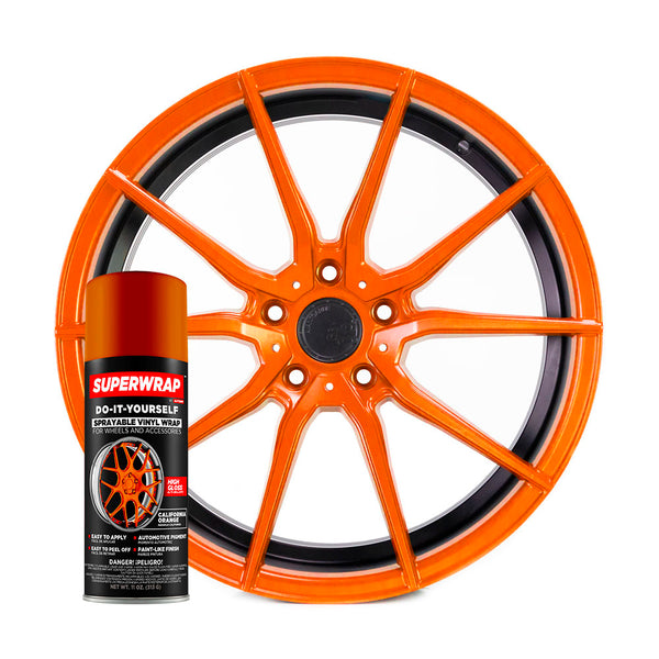SuperWrap California Orange-VinylRace.es