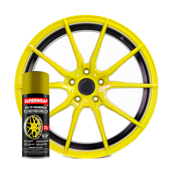 SuperWrap Daytona Yellow-VinylRace.es