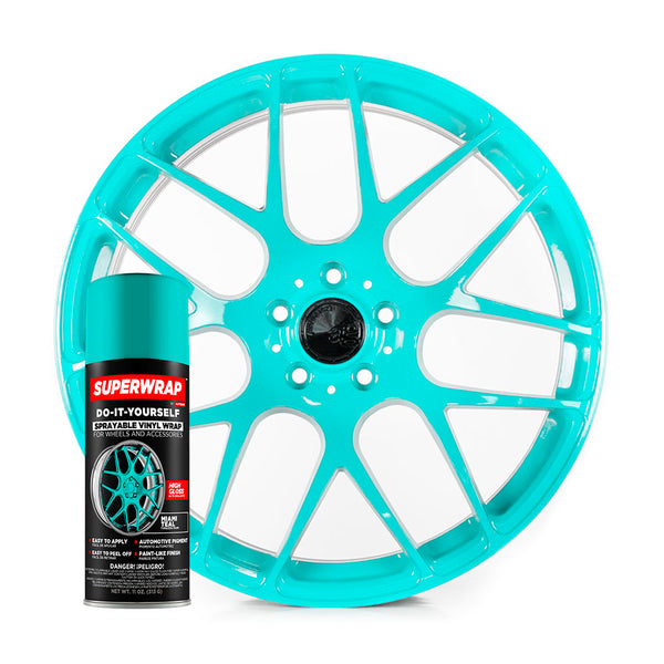 SuperWrap Miami Teal-VinylRace.es