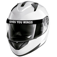 Visera Casco Gives You Wings