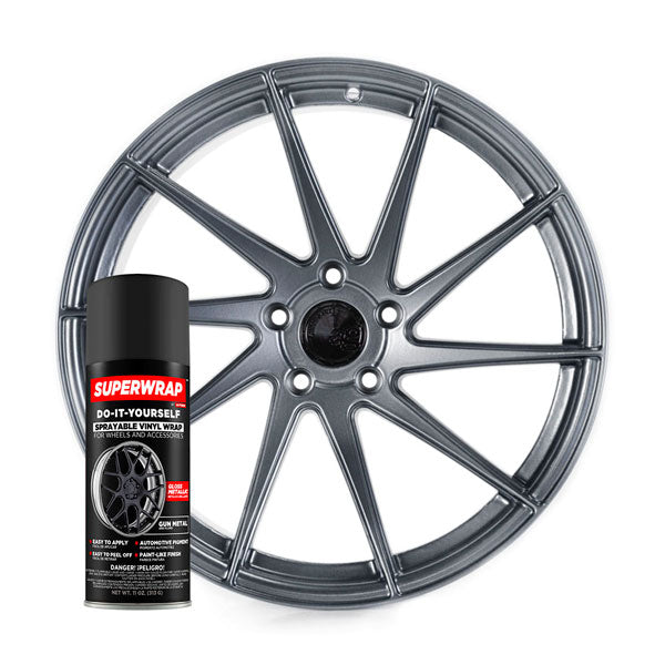 SuperWrap Gun Metal-VinylRace.es