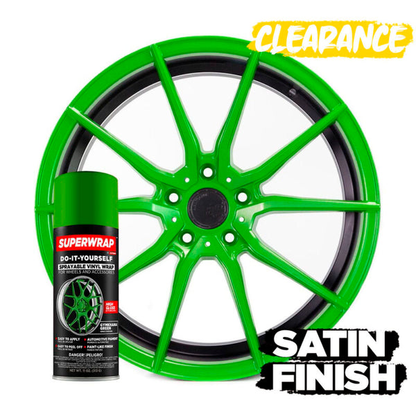 SuperWrap Gymkhana Green-VinylRace.es