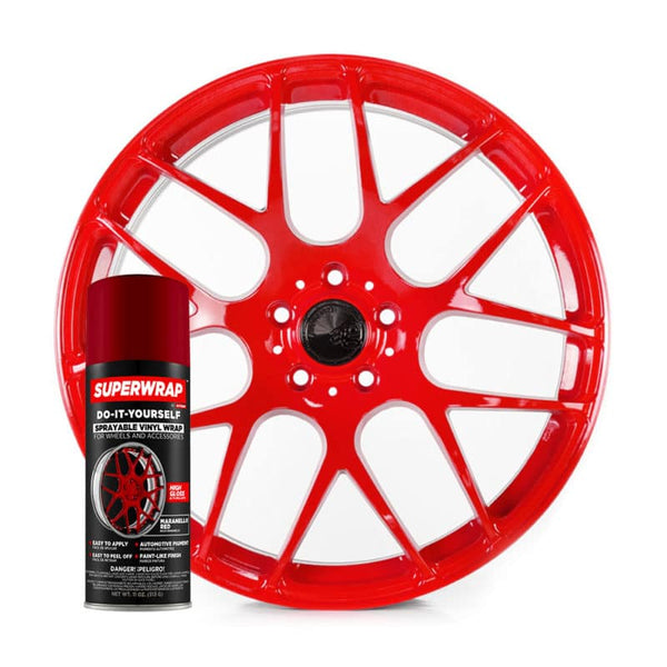 SuperWrap Maranello Red-VinylRace.es