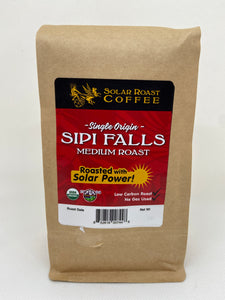 Solar Roast Sipi Falls Organic Coffee - Medium Roast