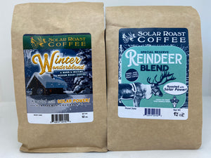 Solar Roast Coffee Holiday Blends 2 Pack Gift Set