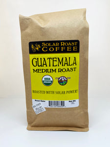 Solar Roast Guatemala Organic Coffee - Medium Roast