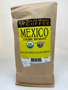 Solar Roast Mexico Organic Coffee - Dark Roast