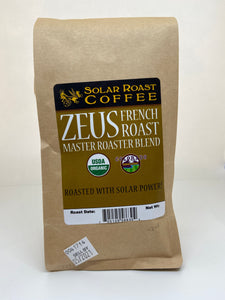 Solar Roast Organic French Roast Zeus Master Roast Blend - Dark Roast