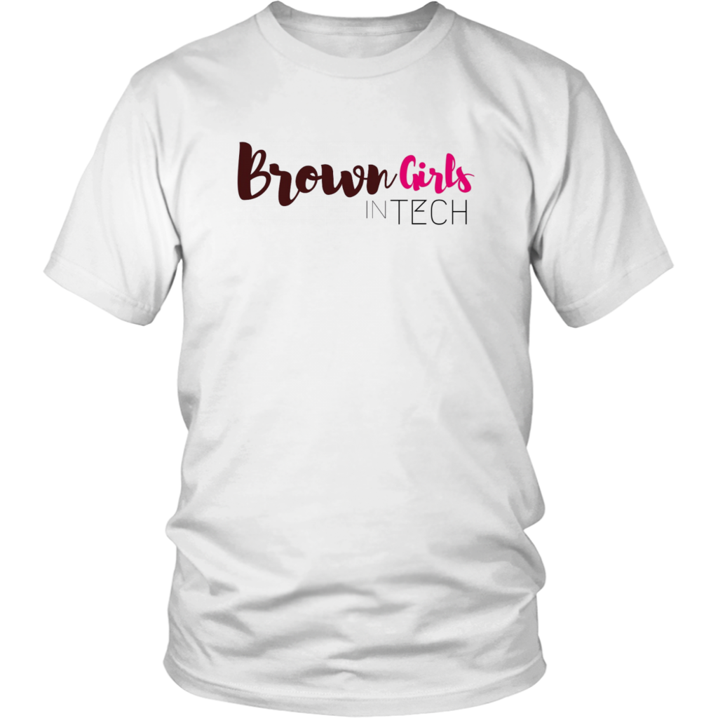 Brown Girls in Tech 1.0 Tee