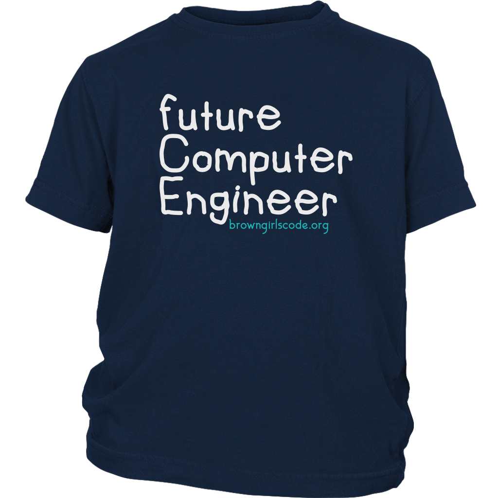 """Future Computer Engineer"" YOUTH Tee"