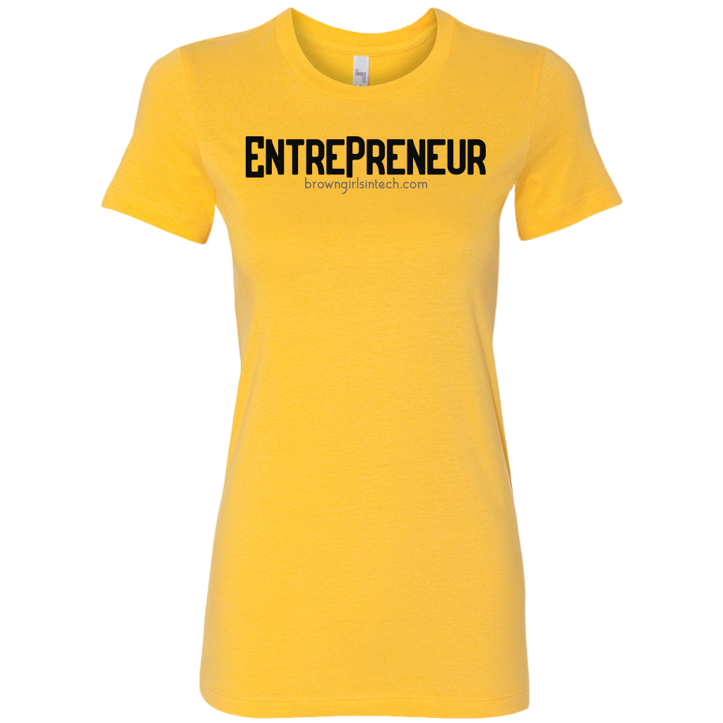 """Entrepreneur 2.0"" Fitted Tee"