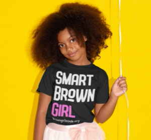 """Smart Brown Girl 2.0"" YOUTH Tee"