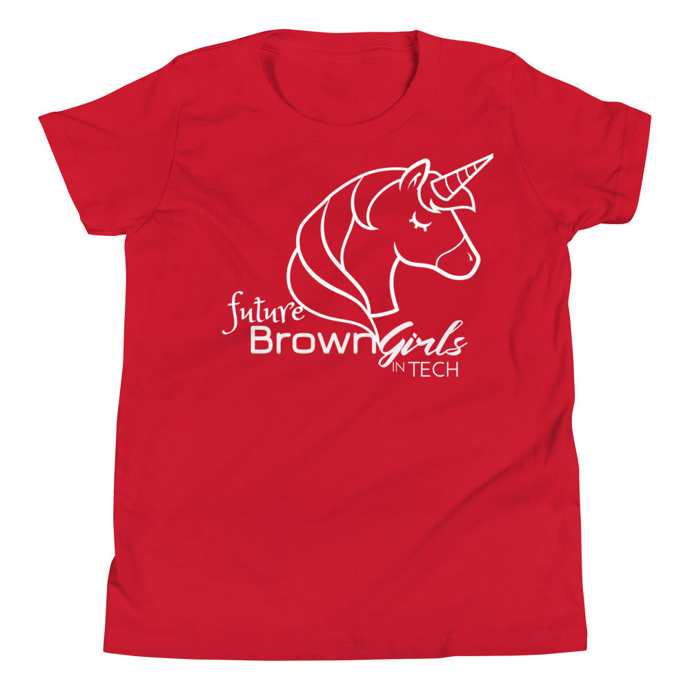 """future Brown Girls in Tech"" YOUTH Tee"