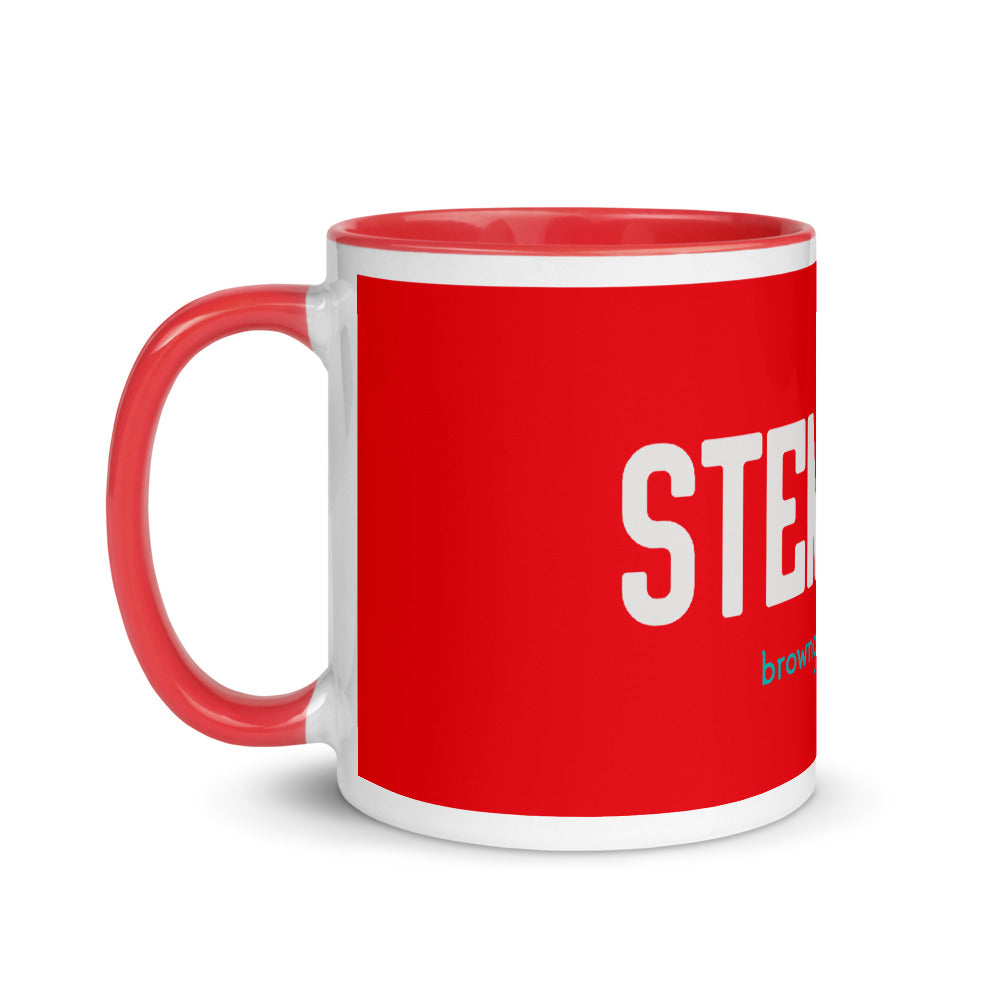 'STEMinist' Mug with Color Inside