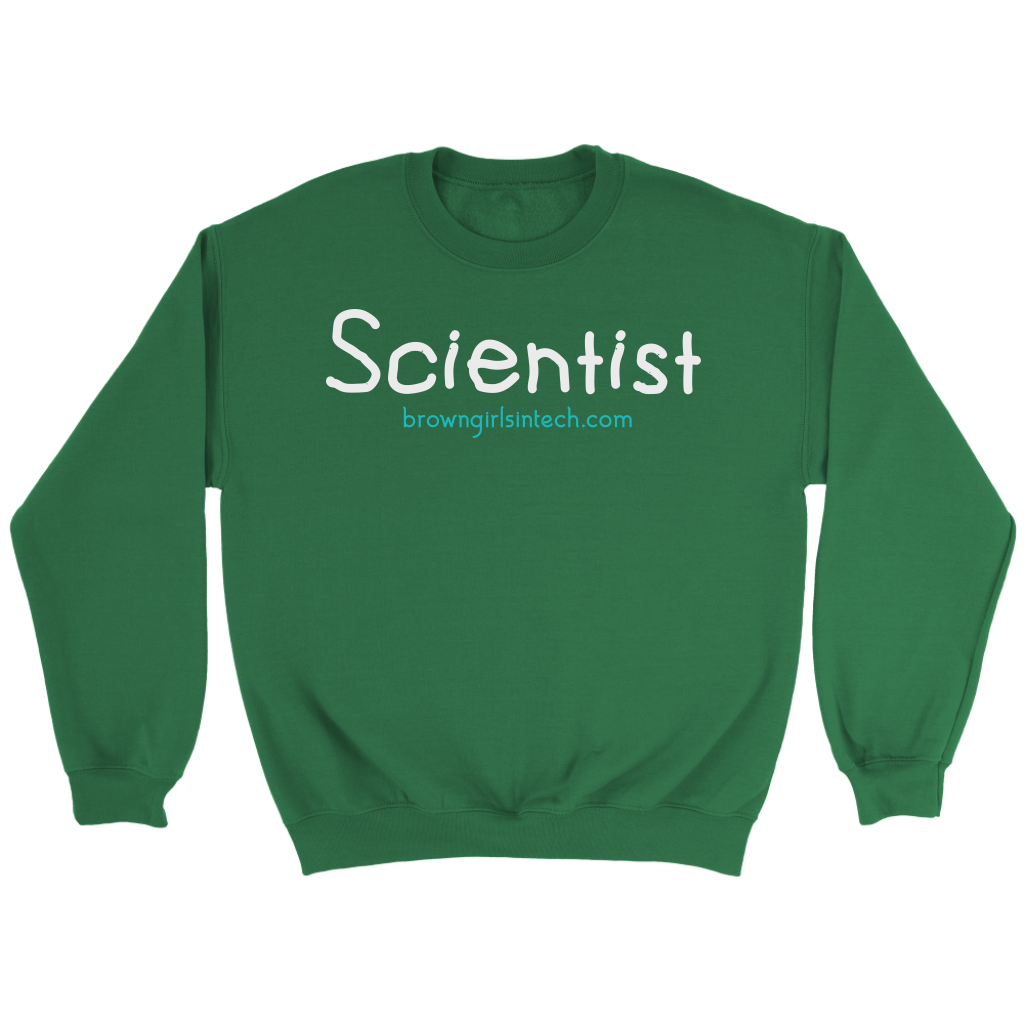 """Scientist"" Crewneck Sweatshirt"