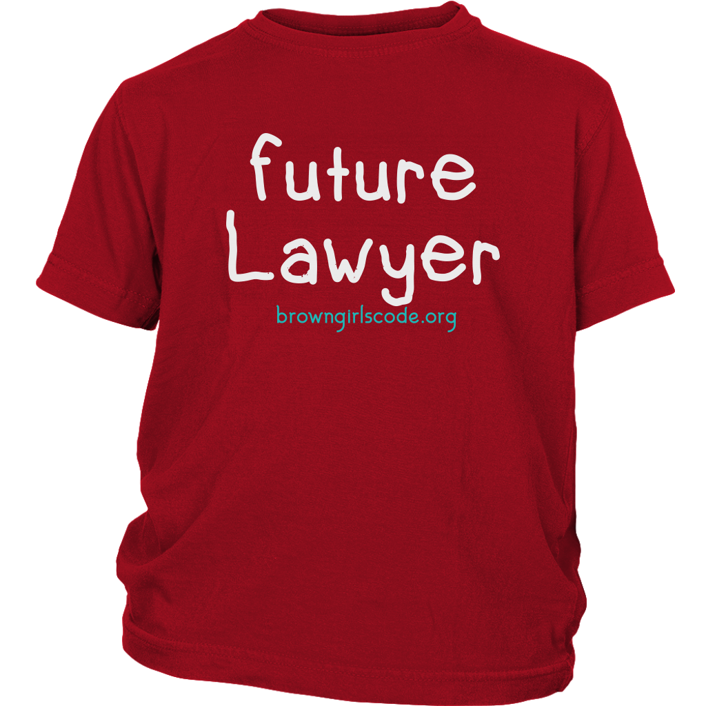 """Future Lawyer"" YOUTH Tee"