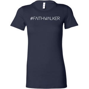 #Faithwalker - Bella Womens Tee