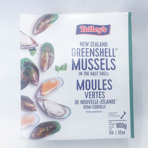 Mussels in half shell (Frozen) 1kg