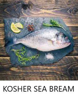 Kosher Sea bream (Whole)