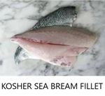 Kosher Sea bream Fillet