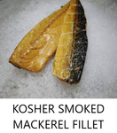 Kosher Smoked Mackerel Fillet