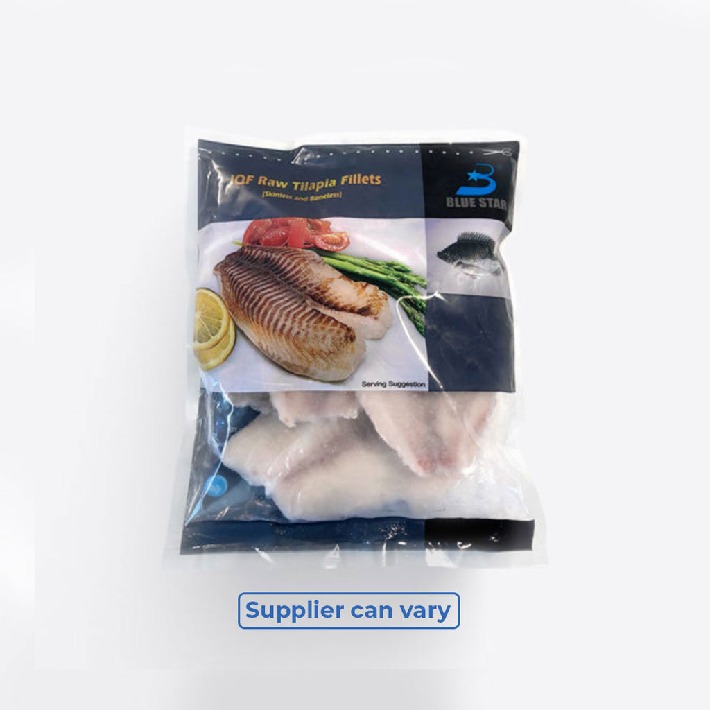 Frozen Tilapia Fillets 1kg Lui Foods Fish Store