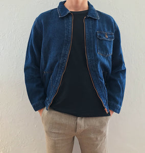 Zip Jacket dark denim unisex